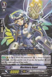 Cardfight Vanguard ENGLISH Triumphant Return of the King of Knights Single Card Common BT10/091 Machinery Angel