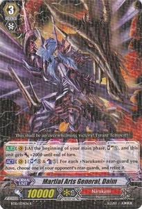 Cardfight Vanguard ENGLISH Triumphant Return of the King of Knights Single Card Rare BT10/034 Martial Arts General, Daimu