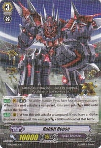 Cardfight Vanguard ENGLISH Triumphant Return of the King of Knights Single Card Rare BT10/041 Rabbit House