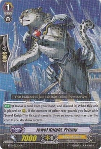 Cardfight Vanguard ENGLISH Triumphant Return of the King of Knights Single Card Rare BT10/023 Jewel Knight, Prizmy
