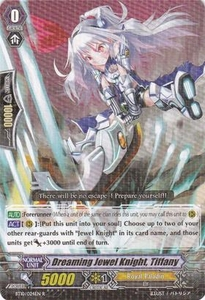 Cardfight Vanguard ENGLISH Triumphant Return of the King of Knights Single Card Rare BT10/024 Dreaming Jewel Knight, Tiffany