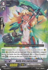 Cardfight Vanguard ENGLISH Triumphant Return of the King of Knights Single Card Common BT10/093 Battle Arm Leprechaun