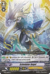 Cardfight Vanguard ENGLISH Triumphant Return of the King of Knights Single Card Common BT10/061 Scheduler Angel