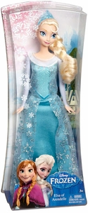 Disney Frozen 11 Inch Sparkle Princess Fashion Doll Elsa of Arendelle New!