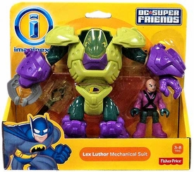 Imaginext DC Super Friends Lex Luthor with Mechanical Suit
