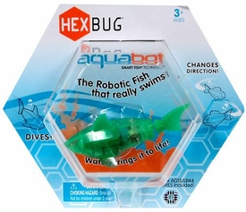 Hexbug Aquabot 3 Inch Electronic Pet Green Shark
