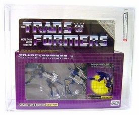 Transformers Takara E-Hobby Exclusive Howlback/Garboil AFA Graded 95 AFA Graded 95