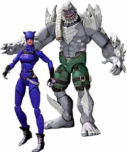 DC Injustice: Gods Among Us 3.75 Inch Action Figure 2-Pack  Doomsday & Catwoman Pre-Order ships March