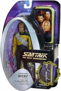 Diamond Select Toys Star Trek The Next Generation Series 1 Action Figure Lt. Worf (Season 7)