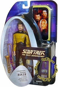 Diamond Select Toys Star Trek The Next Generation Series 1 Action Figure Lieutenant Thomas Riker