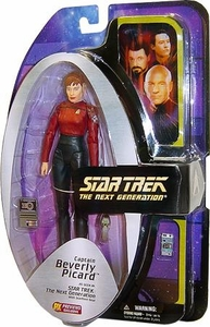 Diamond Select Toys Star Trek The Next Generation Series 4 Action Figure Captain Beverly Picard