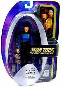 Diamond Select Toys Star Trek The Next Generation Series 5 Action Figure Nurse Alyssa Ogawa