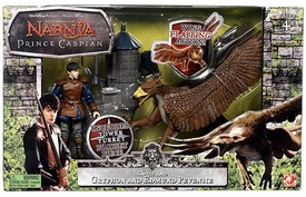 Chronicles of Narnia Prince Caspian Basic Figure Box Set Castle Raid Gryphon & Edmund Pevensie