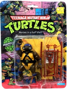 Teenage Mutant Ninja Turtles Vintage Action Figure Donatello Non-Mint Package!