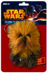 Star Wars Mini Talking Plush Clip-on Chewbacca Pre-Order ships March