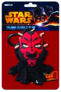 Star Wars Mini Talking Plush Clip-on Darth Maul Pre-Order ships April