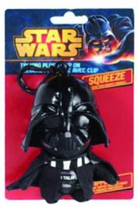 Star Wars Mini Talking Plush Clip-on Darth Vader Pre-Order ships April