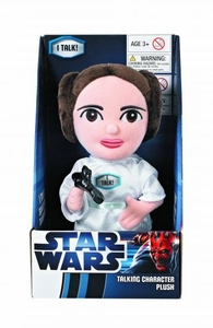 Star Wars Medium Talking Plush Princess Leia Pre-Order ships April