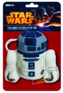 Star Wars Mini Talking Plush Clip-on R2-D2 Pre-Order ships April