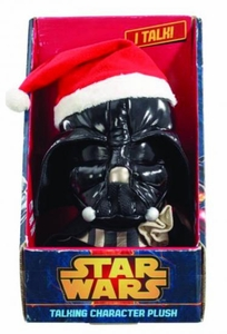 Star Wars Medium Talking Plush Santa Darth Vader Pre-Order ships April