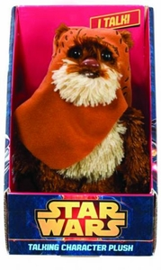 Star Wars Medium Talking Plush Wicket Pre-Order ships October