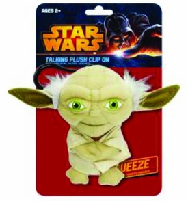 Star Wars Mini Plush Talking Clip-on Yoda Pre-Order ships April