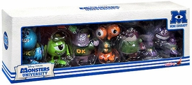 Monsters University Hot Toys 3 Inch Mini Cosbaby Set of 6 Figures [Mike, Sulley, Terry & Terri, Squishy, Art & Don]