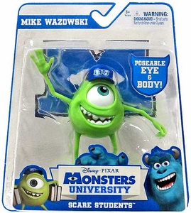 Disney / Pixar Monsters University Scare Students Action Figure Mike Wazowski