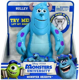Disney / Pixar Monsters University Monster Brights Figure Sulley