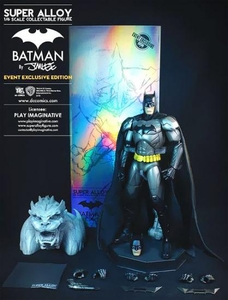 Batman Play Imaginative Super Alloy Diecast 2013 SDCC San Diego Comic-Con Exclusive 1/6 Scale Collectible Figure Batman