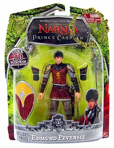 Chronicles of Narnia Prince Caspian 7 Inch Articulated Action Figure Edmund Pevensie Damaged Package, Mint Contents!