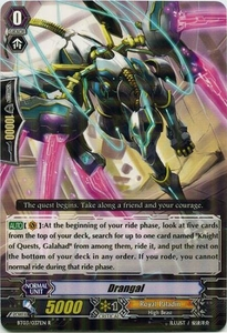 Cardfight Vanguard ENGLISH Demonic Lord Invasion Single Card Rare BT03-037EN Drangal