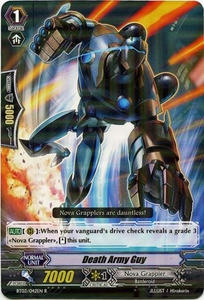 Cardfight Vanguard ENGLISH Demonic Lord Invasion Single Card Rare BT03-042EN Death Army Guy
