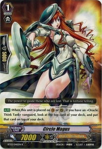 Cardfight Vanguard ENGLISH Demonic Lord Invasion Single Card Rare BT03-040EN Circle Magus
