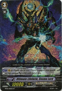 Cardfight Vanguard ENGLISH Demonic Lord Invasion Single Card SP Rare BT03-S06EN Ultimate Lifeform, Cosmo Lord