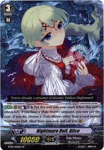 Cardfight Vanguard ENGLISH Demonic Lord Invasion Single Card SP Rare BT03-S02EN Nightmare Doll, Alice