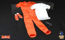 Asmus Toys 1/6 Scale Clothing Set G.C Prison Uniform