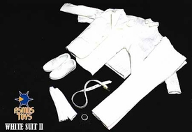 Asmus Toys 1/6 Scale Clothing Set White Suit 2.0 Pre-Order ships April