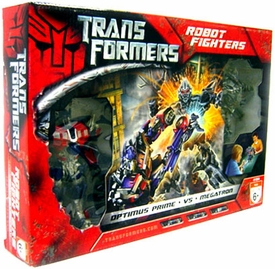 Transformers Movie Hasbro Exclusive Deluxe Action Figure 2-Pack Optimus Prime Vs. Megatron