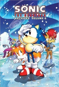 Sonic Comic Book Sonic the Hedgehog Archives Volume 8