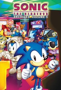 Sonic Comic Book Sonic the Hedgehog Archives Volume 5