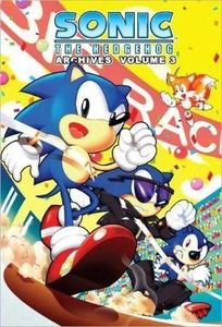 Sonic Comic Book Sonic the Hedgehog Archives Volume 3