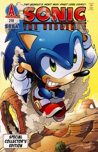 Sonic Comic Book Sonic the Hedgehog Special Collector's Edition