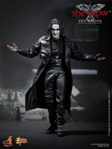 Crow Hot Toys 1/6 Scale Collectible Figure Eric Draven [The Crow] New!