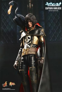 Captain Harlock Hot Toys 1/6 Scale Collectible Figure Captain Harlock Pre-Order ships September
