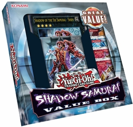 YuGiOh Shadow Samurai Value Box [1 Deck, 4 Booster Packs & 1 Giant-Sized Card]