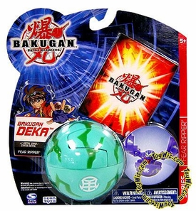 Bakugan Battle Brawlers Deka Series 1 Fear Ripper [Green]