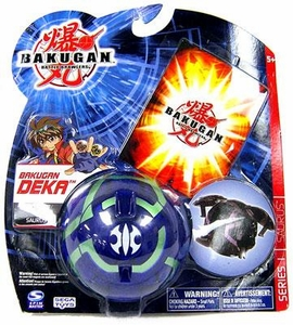 Bakugan Battle Brawlers Deka Series 1 Saurus [Blue]
