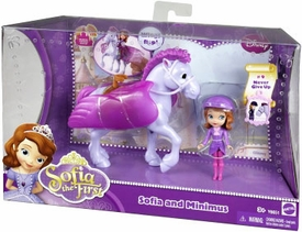 Disney Sofia the First Princess Sofia & Minimus