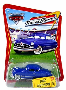Disney / Pixar CARS Movie 1:55 Die Cast Car Series 4 Race-O-Rama Doc Hudson